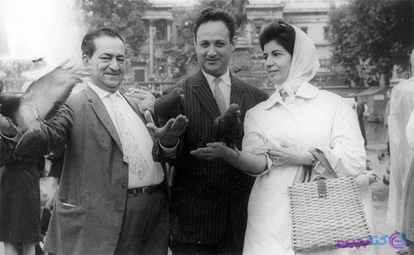 ازدواج عبدالحسین زرین کوب