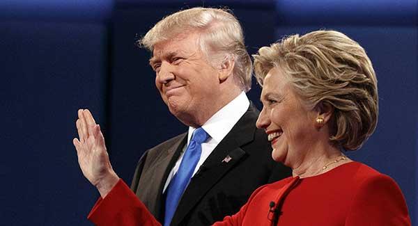 رقابت دونالد ترامپ و هیلاری کلینتون در سال 2016