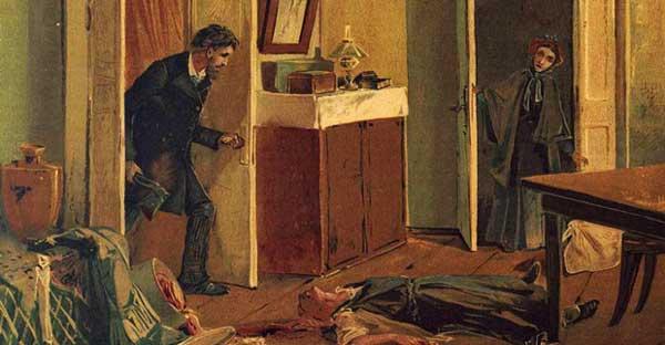 دلهره های راسکولنیکف پس از قتل