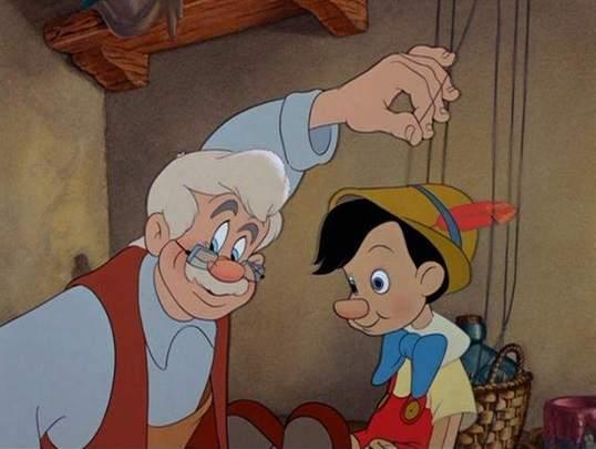 پینوکیو و پدر ژپتو