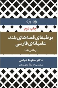 نسخه دیجیتالی کتاب بوطیقای قصه های بلند عامیانه ی فارسی