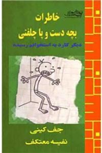 نسخه دیجیتالی کتاب خاطرات بچه دست و پاچلفتی - دیگر کارد به استخوانم رسیده