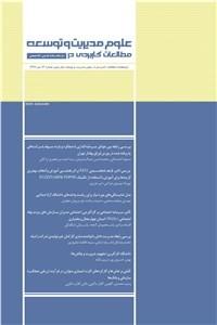 نسخه دیجیتالی کتاب دوماهنامه مطالعات کاربردی در علوم مدیریت و توسعه سال سوم - شماره 13 دی 97
